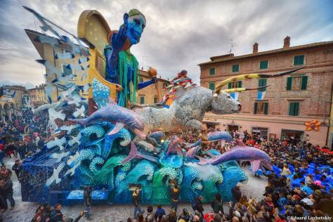 Carnevale dei bambini a Foiano, Arezzo