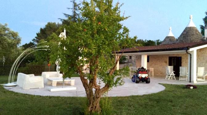 Ampio giardino del Trullalegro
