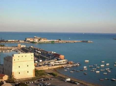Vista di Porto Empedocle