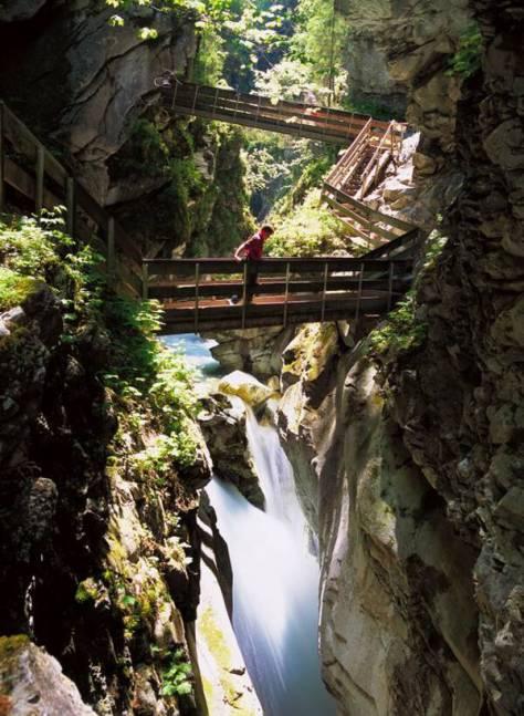 Idee weekend con i bambini in italia Cascate di Stanghe Racines