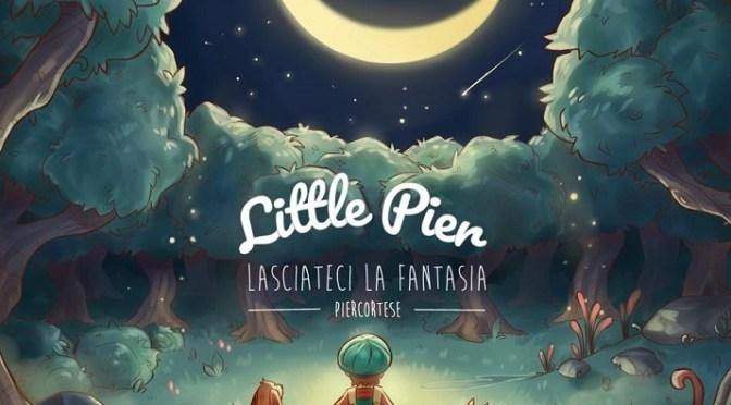 copertina del cd di Little Pier-Lasciateci la fantasia