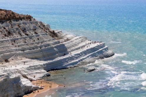 40 idee per un weekend con i bambini in italia sicilia spiaggia di scala dei turchi Agrigento