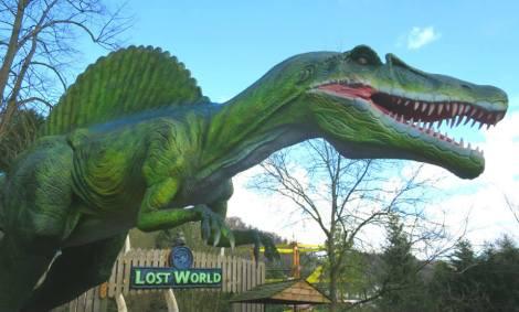 bambini parchi dinosauri europa gran bretagna lost world of dynosaurs