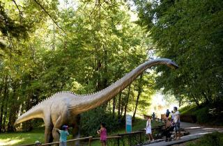 bambini parchi dinosauri europa francia dino zoo