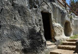 Grotte di Zungri- camminamenti