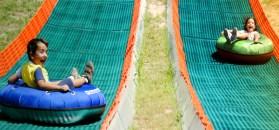 Parco Adrenalina Verde-tubing