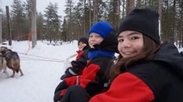 Viaggio in lapponia con i bambini