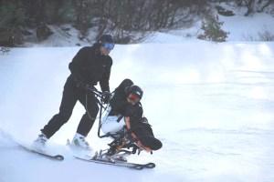 Comprensorio sciistico Cerreto laghi-sci disabili