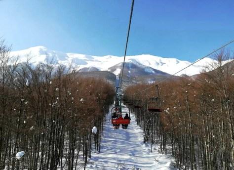 Dove sciare con i bambini in Toscana ed Emilia Romagna Appennino tosco emiliano Comprensorio sciistico Febbio2000-vista