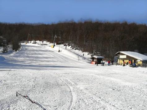 Dove sciare con i bambini in Toscana ed Emilia Romagna Appennino tosco emiliano Comprensorio sciistico Ventasso Laghi-vista