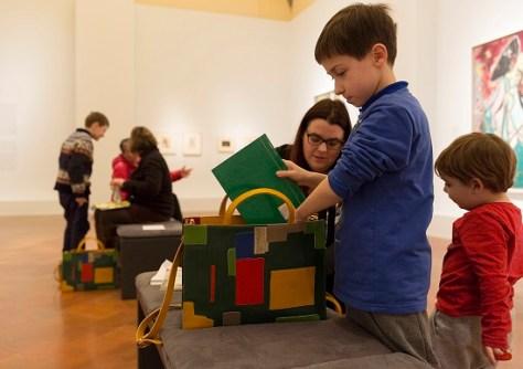 visitare firenze con i bambini Kit Bambini- Palazzo Strozzi