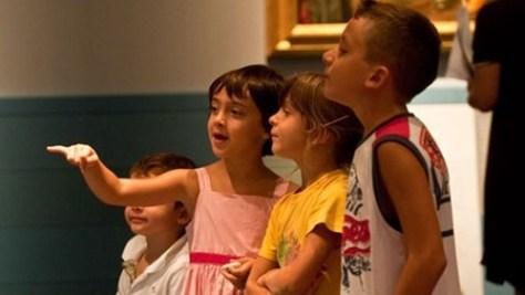 visitare firenze con i bambini la-borsa-del-Banchiere-evento Palazzo Strozzi