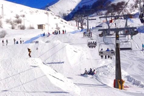 Dove sciare con i bambini in centro Italia campo stella Campo Felice-vista