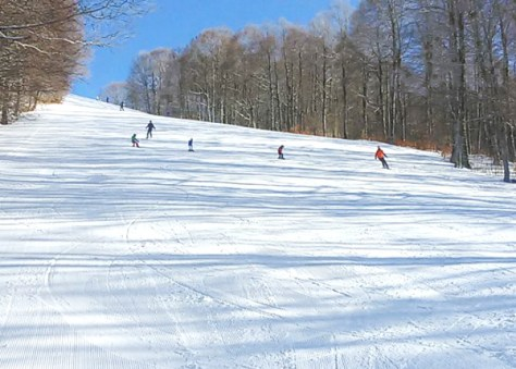 Dove sciare con i bambini in centro Italia campo stella rieti