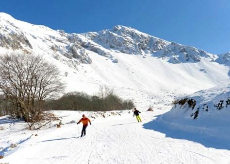 Dove sciare con i bambini in centro Italia campo stella