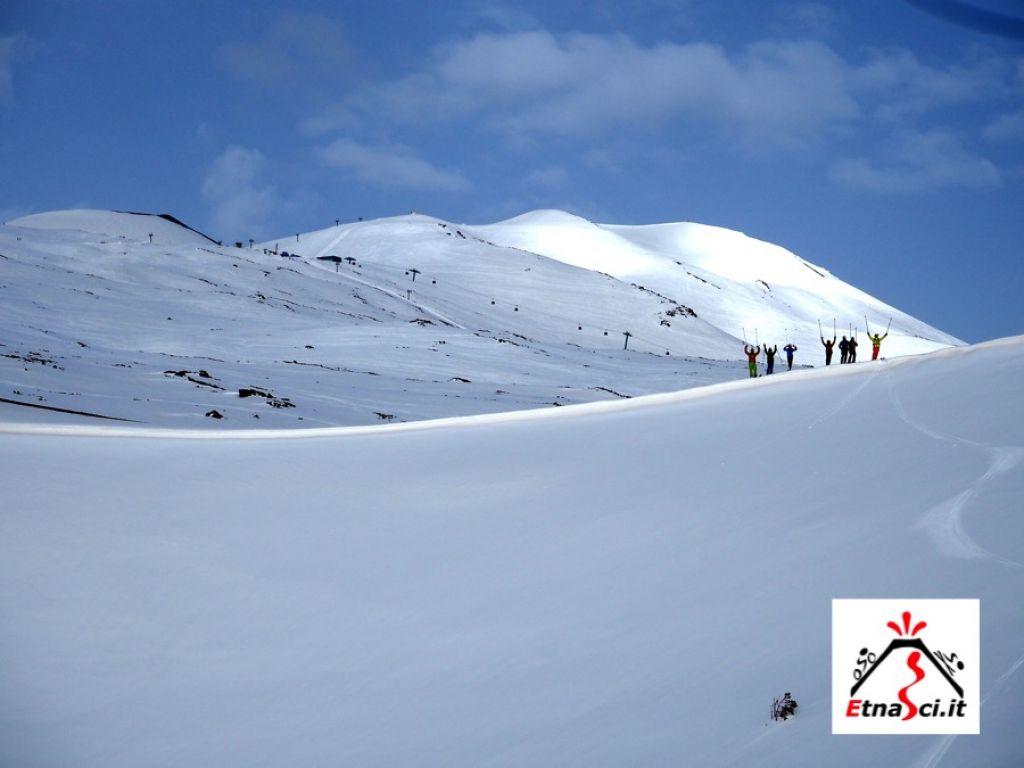 sciare al sud con i bambini etna sud sicilia