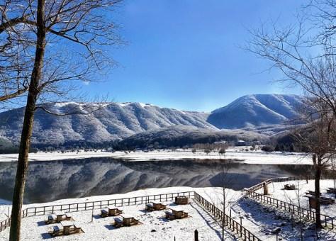 sciare al sud con i bambini lago laceno