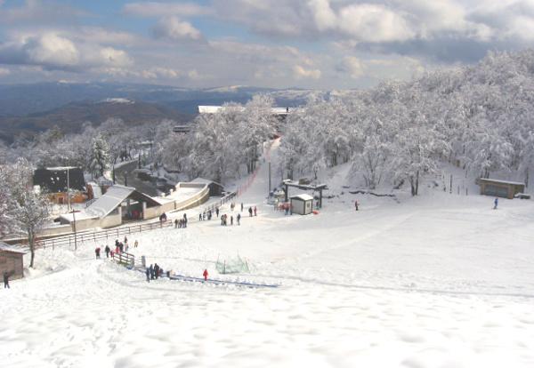 sciare al sud con i bambini basilicata viggiano- vista