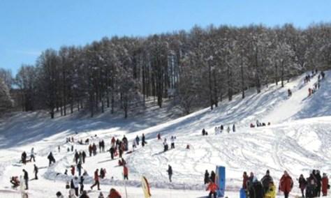 Dove sciare con i bambini in centro Italia Monte Livata lazio