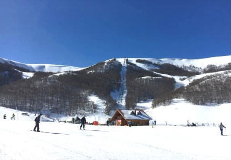 Dove sciare con i bambini in centro Italia campo stella Roccaraso- Alto Sangro