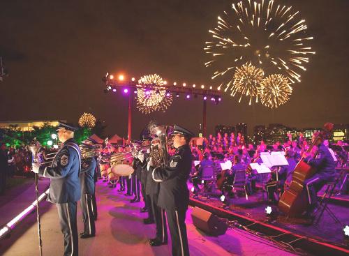 New York con i bambini Viaggio a New York per famiglie-Macy's 4th of July Fireworks 3