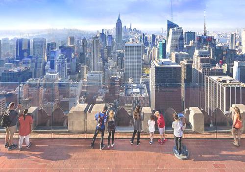 Viaggio a New York per famiglie-Top of the Rock- Rockfeller center