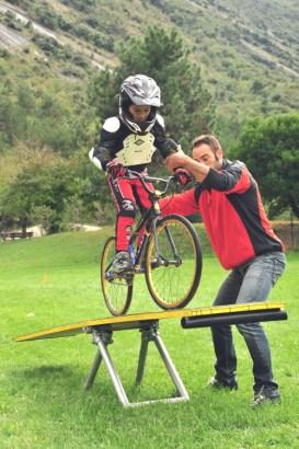lago di garda per bambini Busatte Adveture Park-bike