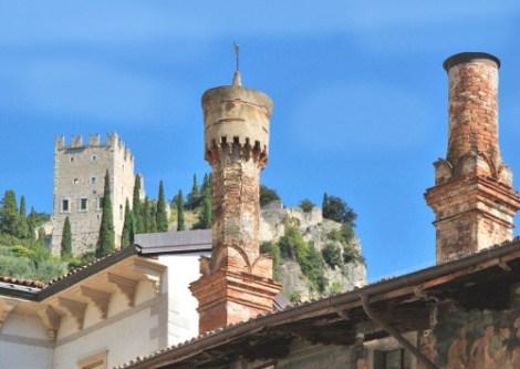castello di Arco-torri
