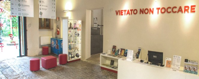 Marche-Museo del Balì-ingresso