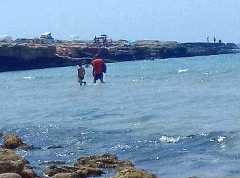 Ragusa-a piedi da spiaggia Sampieri alla Fornace Penna