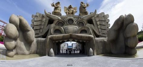 cinecittà world - tempio di cabiria ingresso
