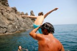 Catania-gita in barca-riviera dei ciclopi-pausa-tuffi