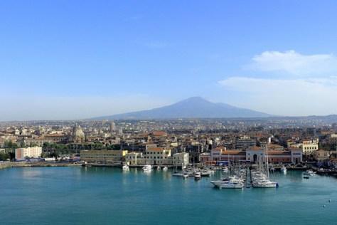 Catania- vista