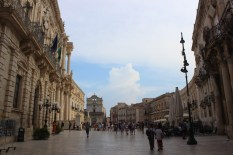 Ortigia-piazza della Cattedrale