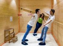 MOOI-museo dele illusioni ottiche-stanze buffe