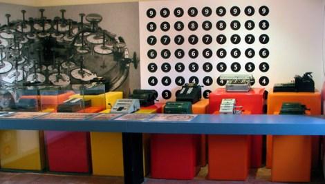 Mateureka-museo della matematica- calcolatrici