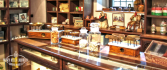 Museo della Liquerizia Amarelli-antico bancone