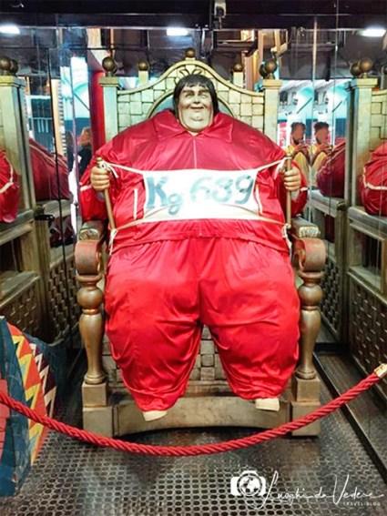 Museo delle curiosità- uomo più grasso