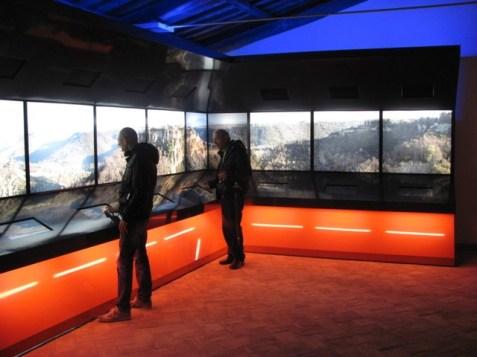 Museo geologico e delle frane_sala_4_touch_screens
