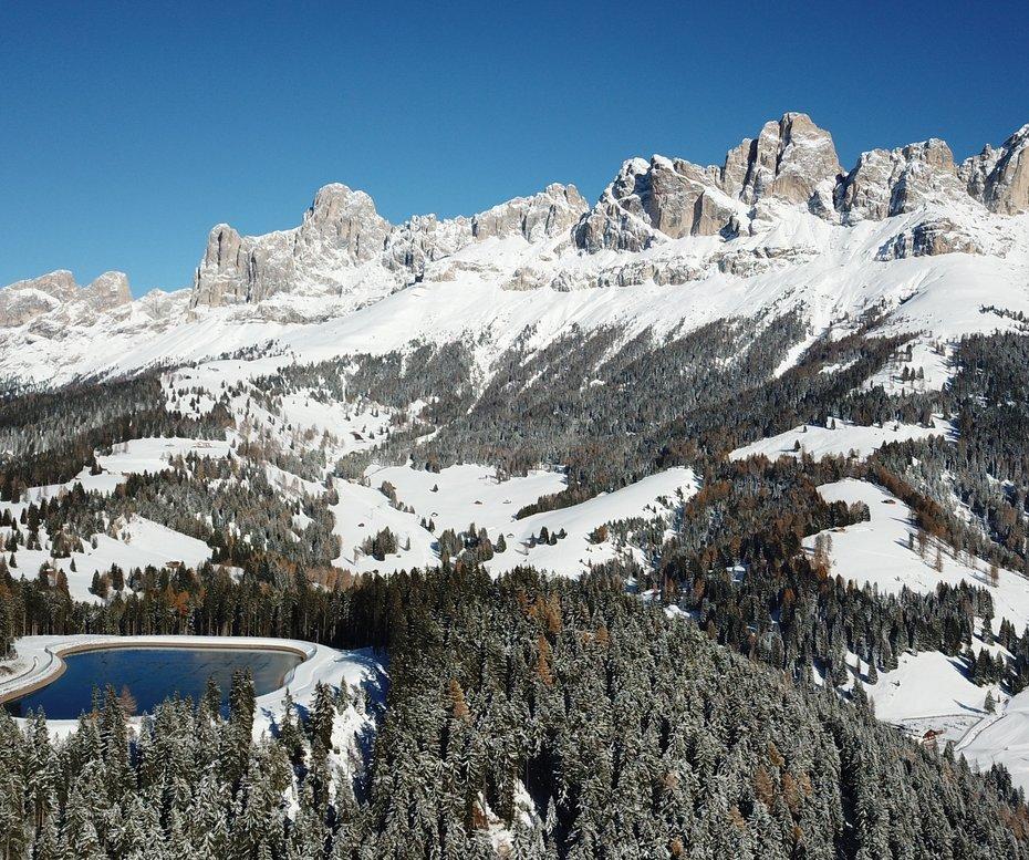 Sciare con i bambini alto adige carezza ski comprensorio nova levante