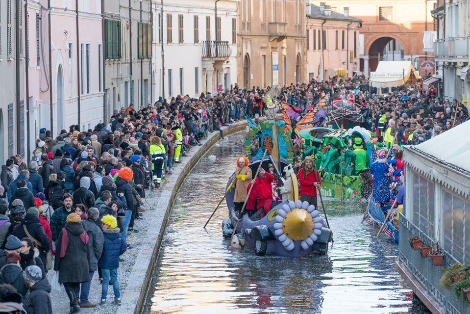 weekend bambini emilia romagna carnevale sull'acqua di comacchio