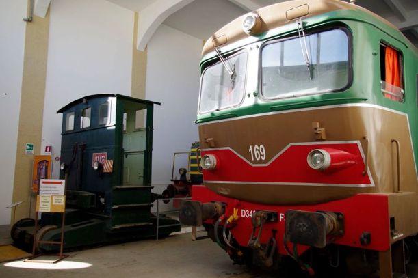 museo ferroviario lecce - motrice