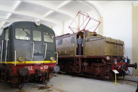 museo ferroviario lecce - sala interna