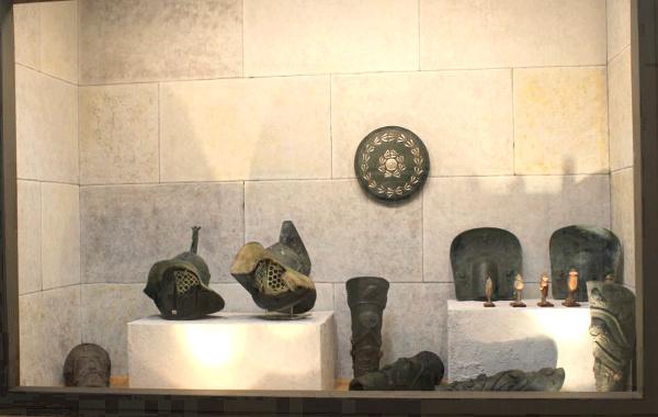 Caserta-Museo-dei-Gladiatori-reperti