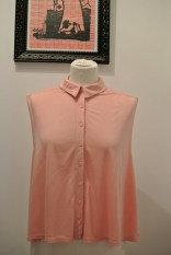 Topshop peach top