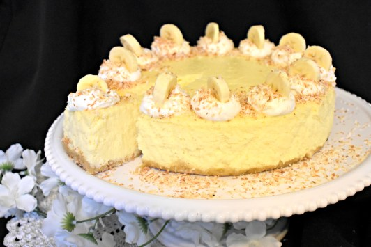 Coconut Banana Cheesecake. 1 jpg