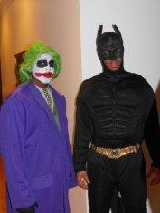 Eric Maynor as Batman? Eric Maynor as Batman.