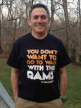 Akron Coach Keith Dambrot, friend of the program.