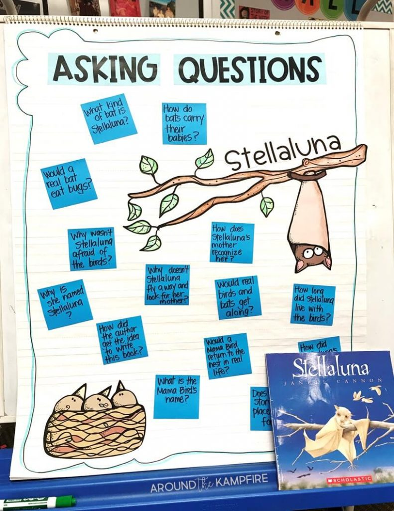 medium resolution of Teaching with Stellaluna: Turning Readers Into Comprehenders - Around the  Kampfire