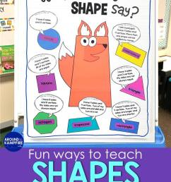 Seriously FUN Ways to Teach Shapes! - Around the Kampfire [ 1056 x 816 Pixel ]